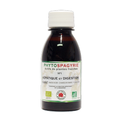 Phytospagyrie n°1 Hépatique et digestion - Bio* - 150 ml