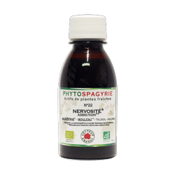 Phytospagyrie N°22 Nervosité (addiction) - Bio* - 150 ml